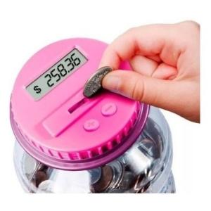 Alcancía contadora de monedas Discovery Kids