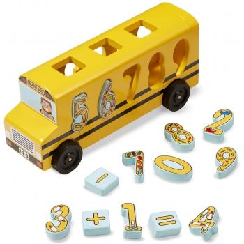 Autobús matemático escolar Melissa & Doug
