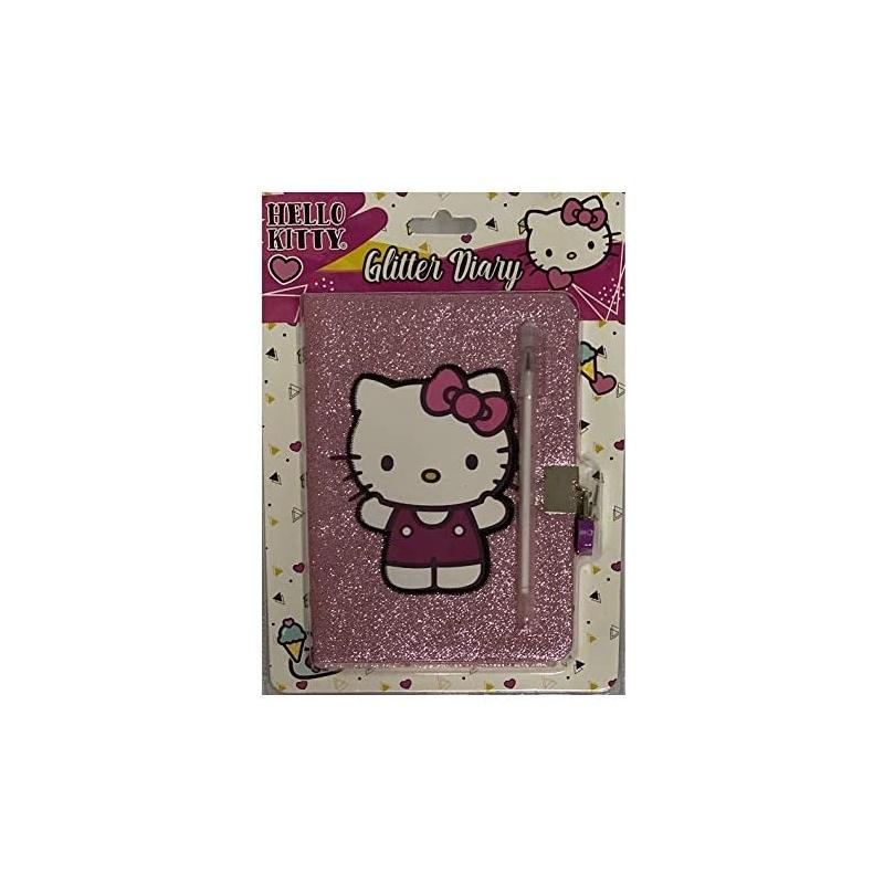 Diario glitter Hello Kitty