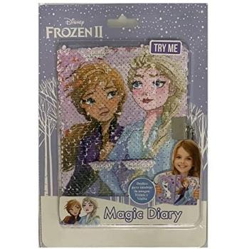 Diario reversible lentejuelas Frozen 2