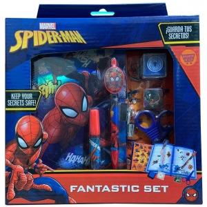 Diario ensueño Spiderman con candado