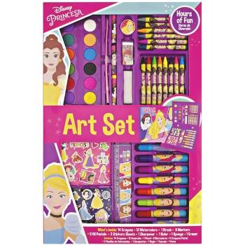 Set de arte para colorear Princesas de Disney
