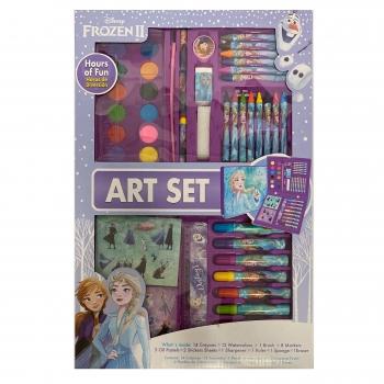 Set de arte para colorear Frozen 2