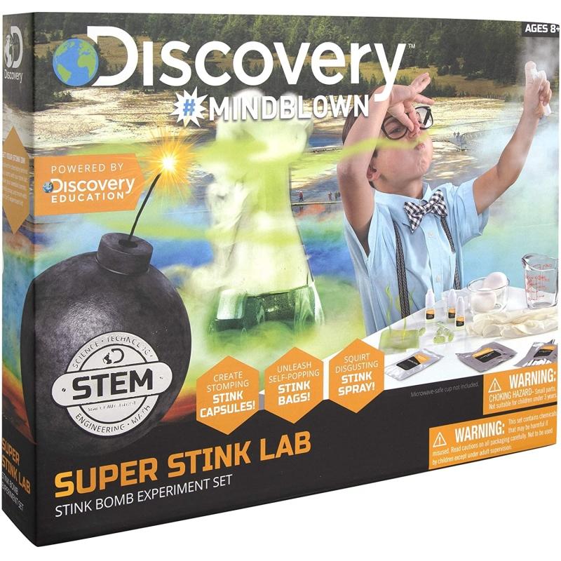 Juego de bombas apestosas Discovery Kids.