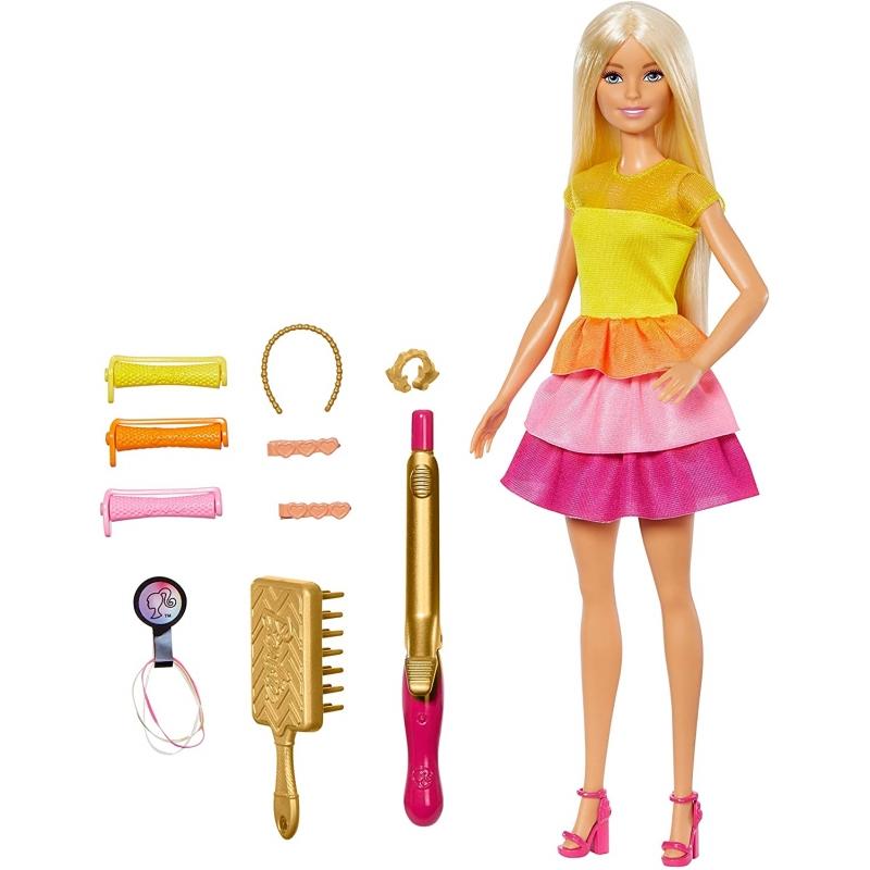 Barbie Fashion Muñeca Peinados De Ensueño