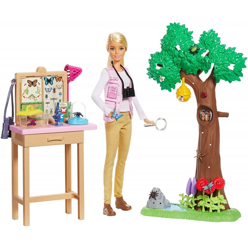 Barbie Profesiones Nat Geo Cuidadora De Mariposas