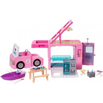 Barbie Estate Cámper de 3 en 1 Muñeca para niñas