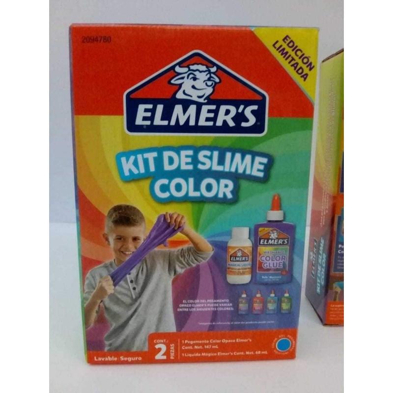Kit de slime Color 2 piezas Elmers