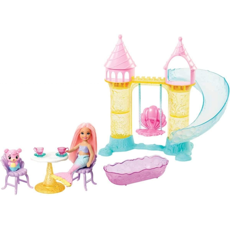 Barbie parque de sirenas.