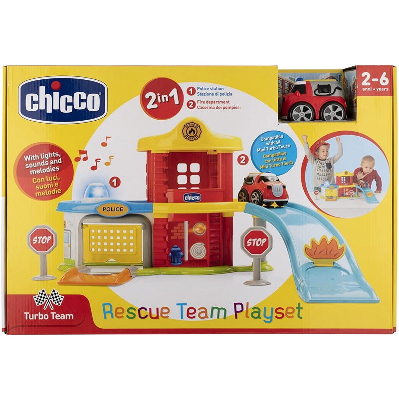 Juguete Playcity Rescue Department Chicco