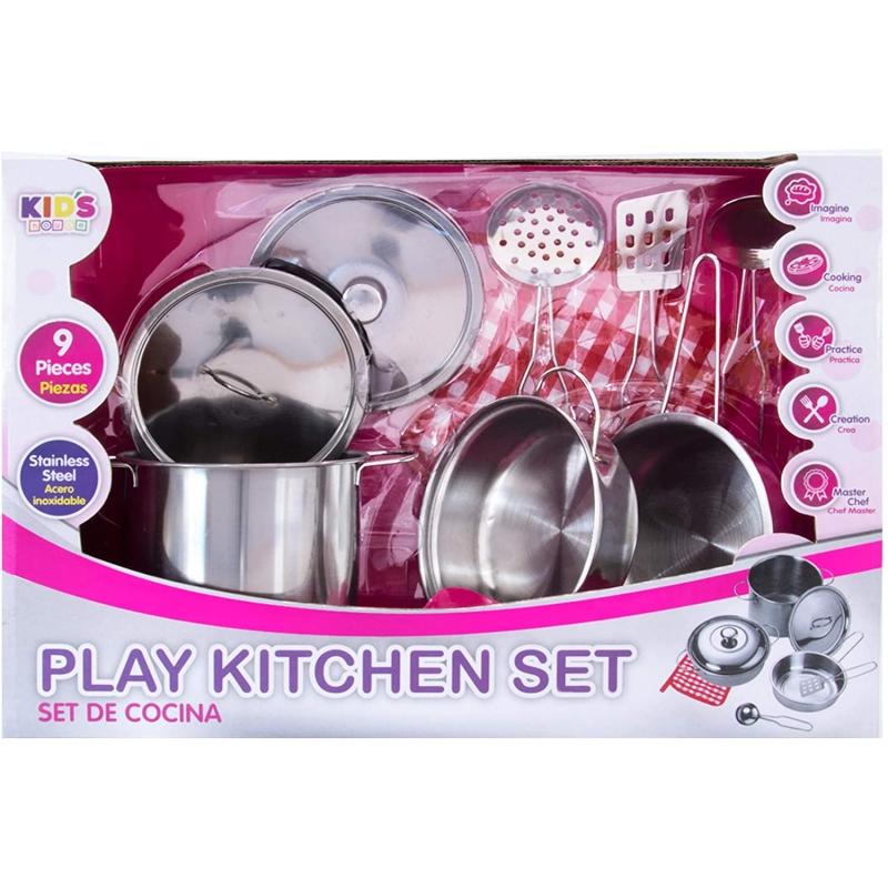 Set de Cocina 3+ 9pzas